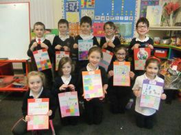 Year 3 and Year 4 Christmas Art