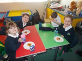 Pancake Making - Year 3 & Year 4