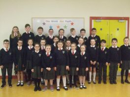 Our School Choir achieved 3rd place at Newry Feis