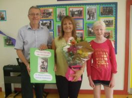 Mrs McKeown Retires