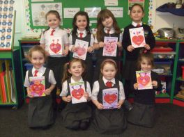 Y2 and Y3 Valentine's cards